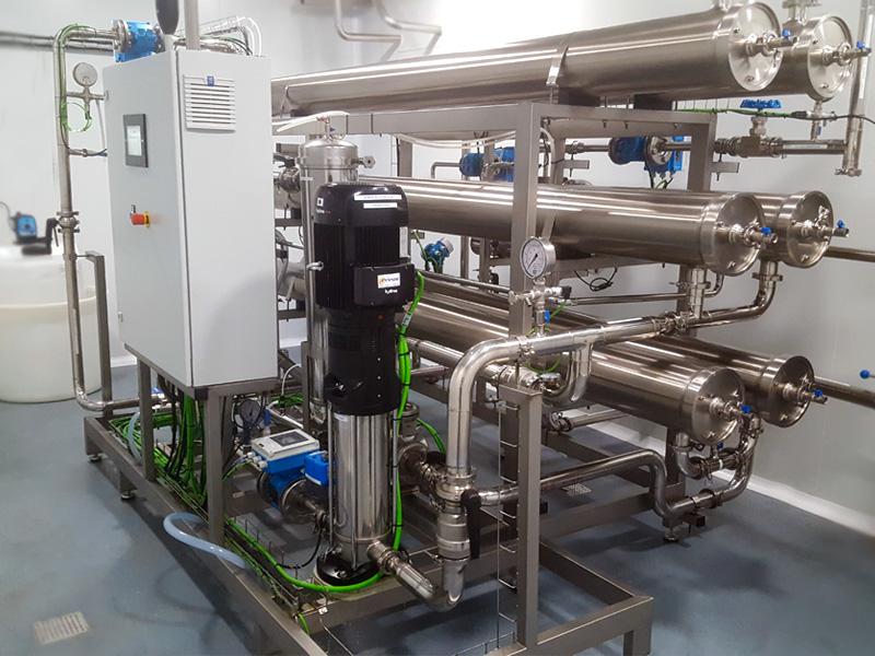 equipos tratamiento aguas industrial