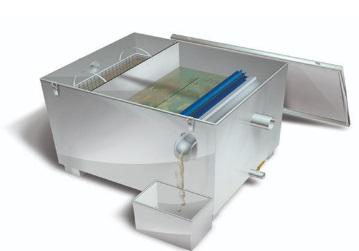 separador de grasas BIOGRÁS MINI INOX AUTOMÁTICO