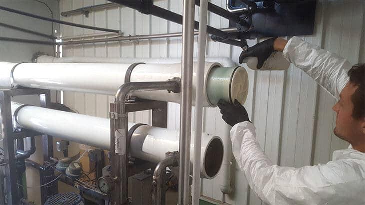 mantenimiento asistencia tecnica tratamientos de agua