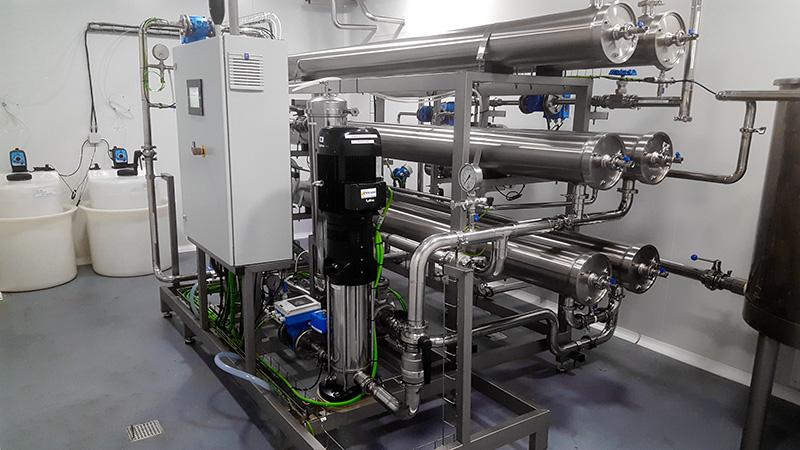 osmosis inversa industrial aguas salinas