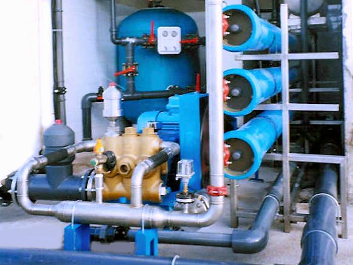 osmosis industrial agua mar salobre