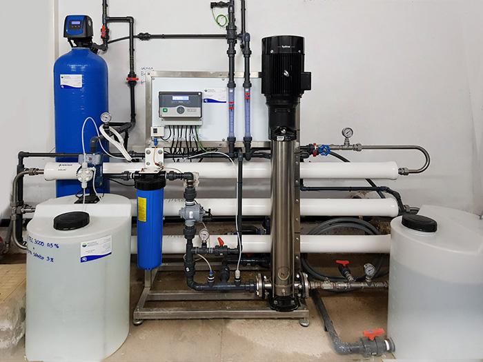tratamiento osmosis inversa agua mar salobre
